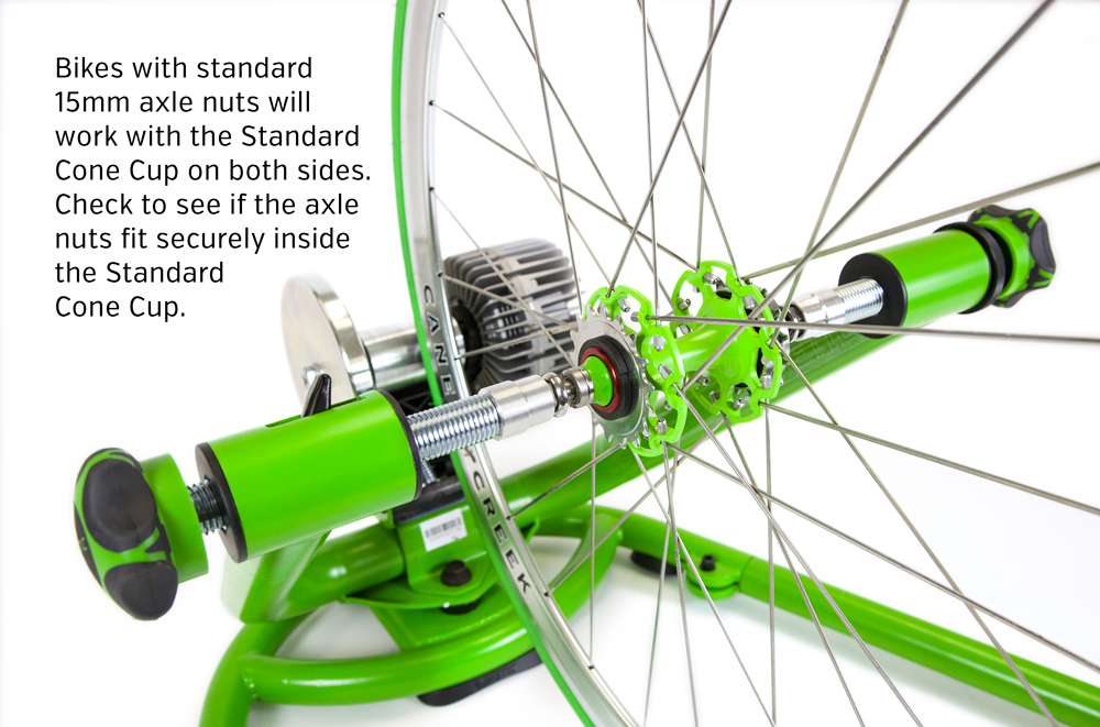 Track And Single Speed Bikes With Axle Nuts Kinetic